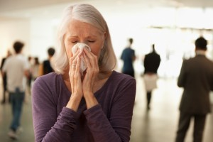 Urinary Incontinence When Coughing or Sneezing.
