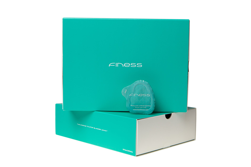 Finess makes stopping bladder leaks comfortable and easy